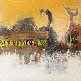 "Gicleé 3 ""IT`S TIME TO DANCE"" 100 x 100 cm, Edition 120"